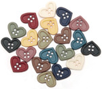 Quilt Hearts - Dress It Up Embellishments