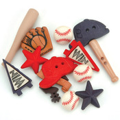 Baseball - Dress It Up Embellishments