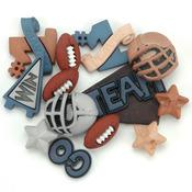 Football - Dress It Up Embellishments