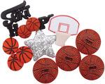 Basketball - Dress It Up Embellishments