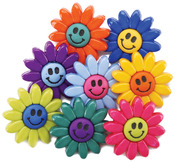 Smiley Flowers - Dress It Up Embellishments