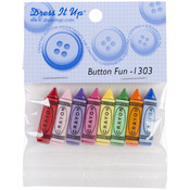 Crayons - Dress It Up Embellishments