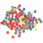 Tiny Primary Buttons - Dress It Up Embellishments