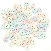 Tiny Pastel Buttons - Dress It Up Embellishments