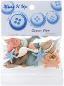 Ocean View - Dress It Up Embellishments