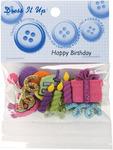 Happy Birthday - Dress It Up Embellishments