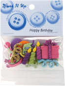 Happy Birthday - Dress It Up Embellishments