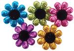 Glitter Flowers - Dress It Up Embellishments