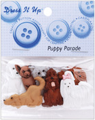 Puppy Parade - Dress It Up Embellishments