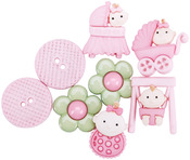 Baby Fun Girls - Dress It Up Embellishments