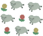 Counting Sheep - Dress It Up Embellishments