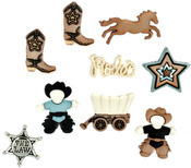 Howdy Partner - Dress It Up Embellishments