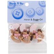 Horse & Buggy - Girl - Dress It Up Embellishments