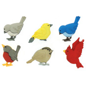 Feathered Friends - Dress It Up Embellishments