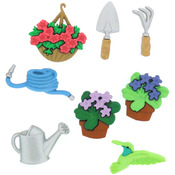 Gardening - Dress It Up Embellishments