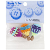Hot Air Balloons - Dress It Up Embellishments