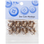 Sew Cute Monkeys - Dress It Up Embellishments