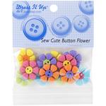 Dress It Up Embellishments - Sew Cute Button Flower