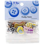 Dress It Up Embellishments - Funky Farm