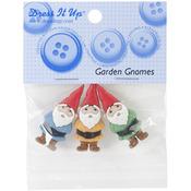 Dress It Up Embellishments - Garden Gnomes