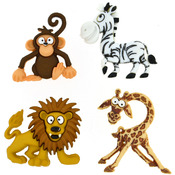 Silly Safari - Dress It Up Embellishments