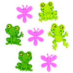Happy Frogs - Dress It Up Embellishments