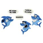 Shark! - Dress It Up Embellishments