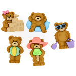 Summer Bears - Dress It Up Embellishments