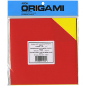 "Assorted Colors Double-Sided - Origami Paper 7""X7"" 36 Sheets"