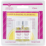 Clove Leaf - Candy & Baking Flavoring .125oz Bottle 2/Pkg