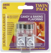 Anise Oil - Candy & Baking Flavoring .125oz Bottle 2/Pkg