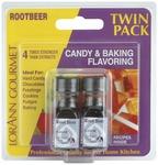 Root Beer - Candy & Baking Flavoring .125oz Bottle 2/Pkg