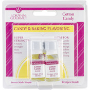 Cotton Candy - Candy & Baking Flavoring .125oz Bottle 2/Pkg