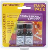 Butterscotch - Candy & Baking Flavoring .125oz Bottle 2/Pkg