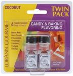 Coconut - Candy & Baking Flavoring .125oz Bottle 2/Pkg