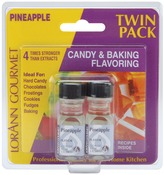 Pineapple - Candy & Baking Flavoring .125oz Bottle 2/Pkg