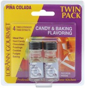 Pina Colada - Candy & Baking Flavoring .125oz Bottle 2/Pkg