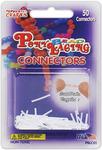 Pony Bead Lacing Connectors 50/Pkg