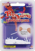 Pony Bead Lacing Connectors 50/Pkg