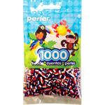Patriotic Stripe - Perler Striped Beads 1000/Pkg