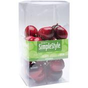 Mini Cherries - Design It Simple Decorative Fruit 25/Pkg