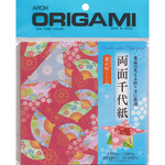 """Origami Paper 5.875""""X5.875"""" 28 Sheets - Ryomen Double Sided"""
