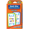 Math War: Addition and Subtraction - Game Cards SCHOOL ZONE-Game Cards. These cards offer learning in the form of a game, which is great for kids. This package contains one box of game cards. Available in a variety of different age groups and subject options, each sold separately. Made in USA.