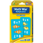 Multiplication Math War - Game Cards