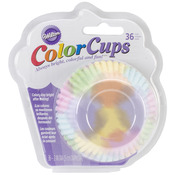 Watercolor 36/Pkg - ColorCup Standard Baking Cups