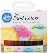 Easter - Gel Food Coloring Set 4/Pkg