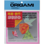 """Origami Paper 5.875""""X5.875"""" 36 Sheets - Double Sided Solid"""