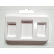 Rectangles Assorted Sizes 3 Cavity - Jewelry Casting Mold