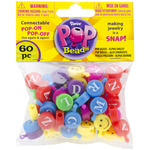 Alpha Smiley - Pop Beads 60/Pkg
