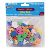 Alphabet - Foam Stickers 180/Pkg